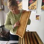 Pop up class beekeeping tutor Kate Schenck