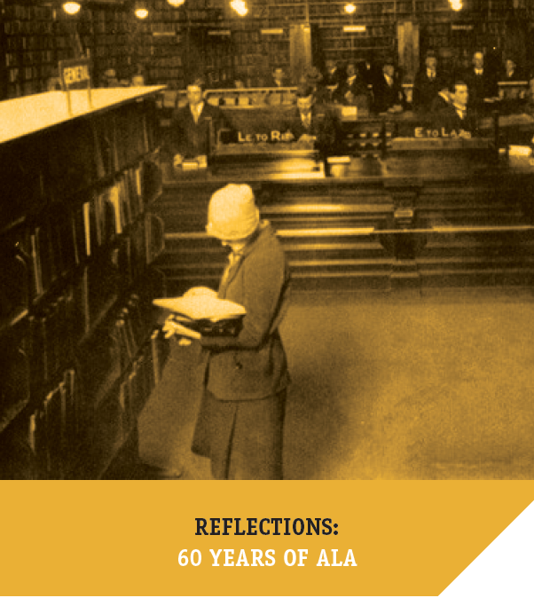 Reflections on ALA